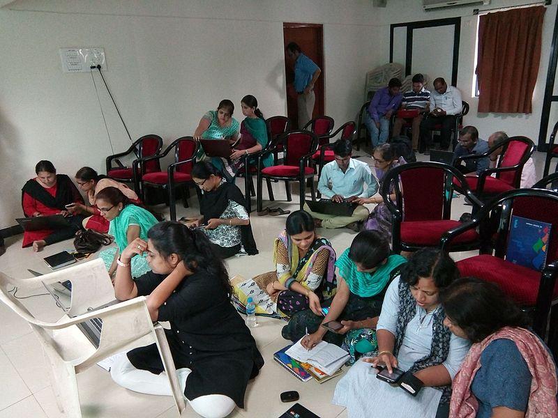 Marathi Wikipedia Edit-a-thon at Savitribai Phule Mahila Ekatma Samaj Mandal, Aurangabad