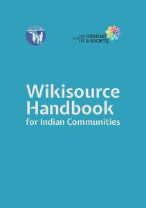 Wikisource Handbook for Indian Communities
