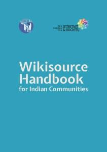 Wikisource Handbook for Indian Communities