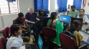 Report on 15 days Training in Basic Computing with use of NVDA and eSpeak in Oriya