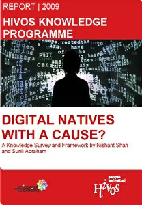 Digital Natives with a Cause? A Report