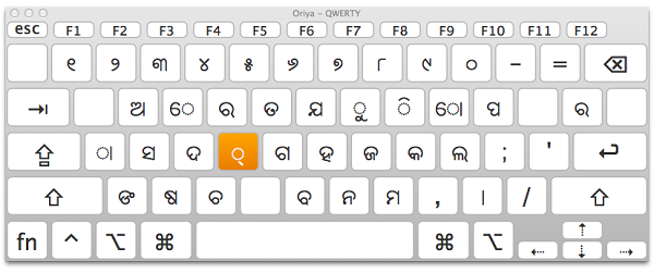 Apple Querty Keyboard