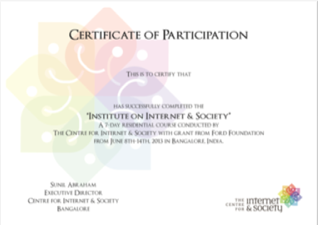 Design Of Certificate Of Participation. 10 Sets Of Free