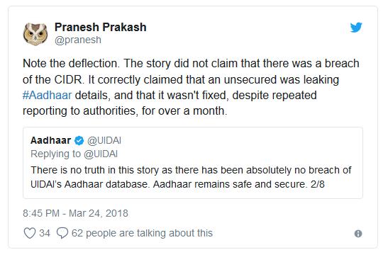 Pranesh Tweet