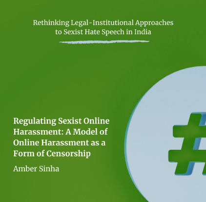 Regulating Sexist Online Harassment as a Form of Censorship