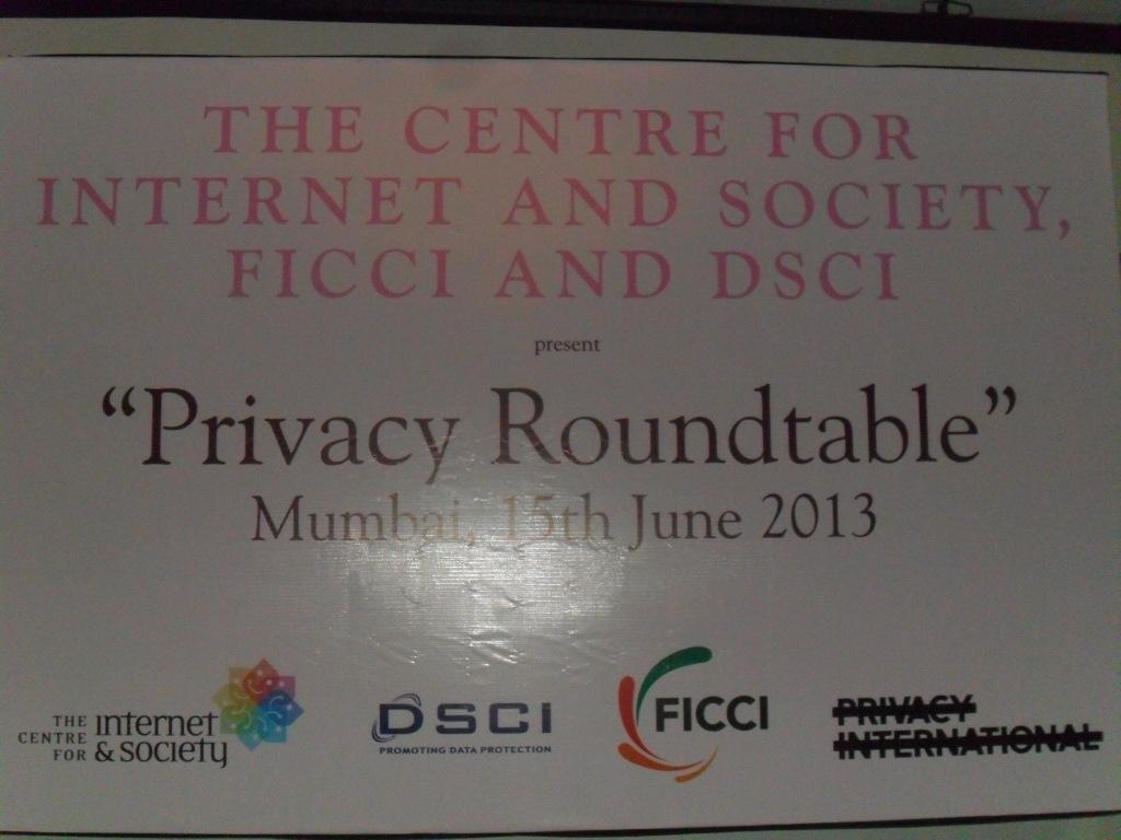 Report on the 4th Privacy Round Table meeting