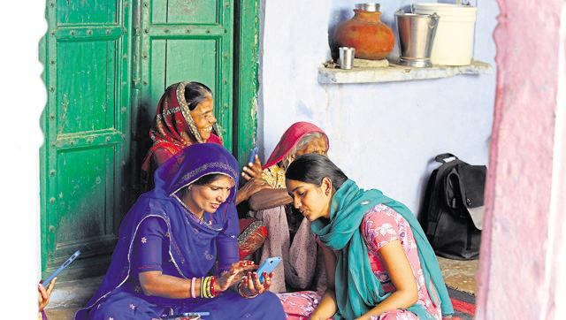 Bridging the gap: Tech giants bring the internet to women in rural India
