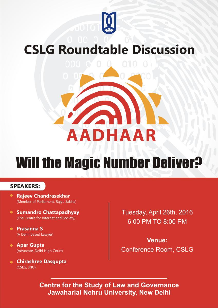 CSLG Roundtable Discussion - Will the Magic Number Deliver? - April 26, 6 pm