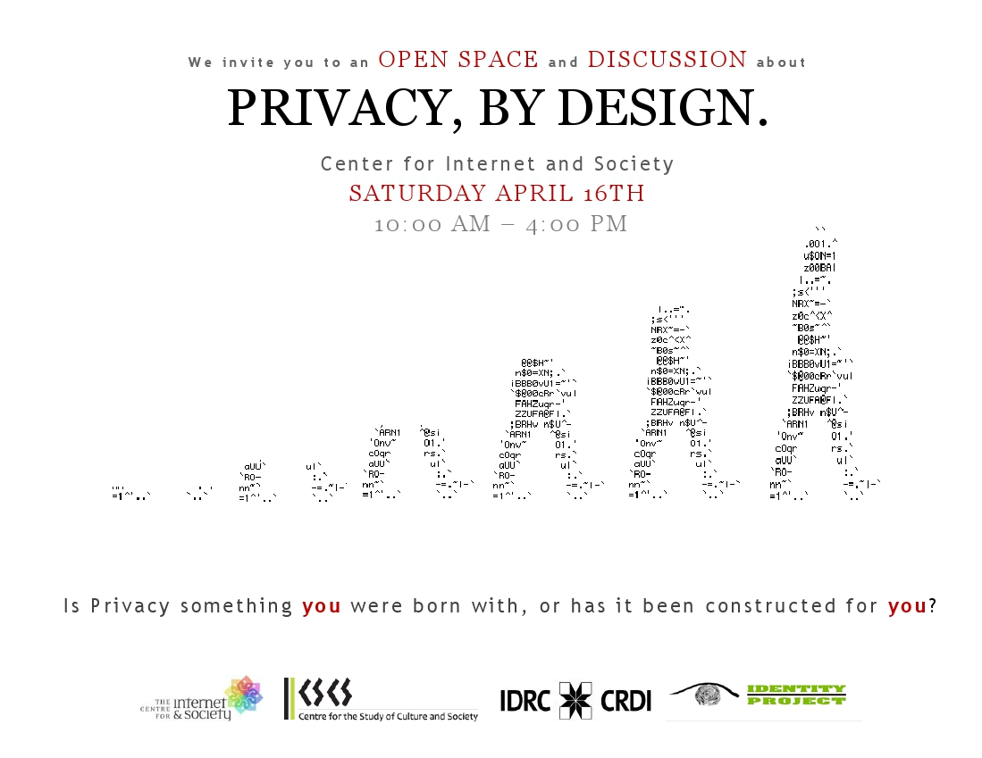 Design By: Privacy By Design