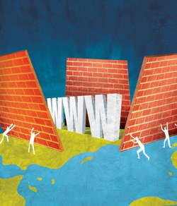 US Clampdown Worse than the Great Firewall