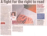 A fight for the Right to Read