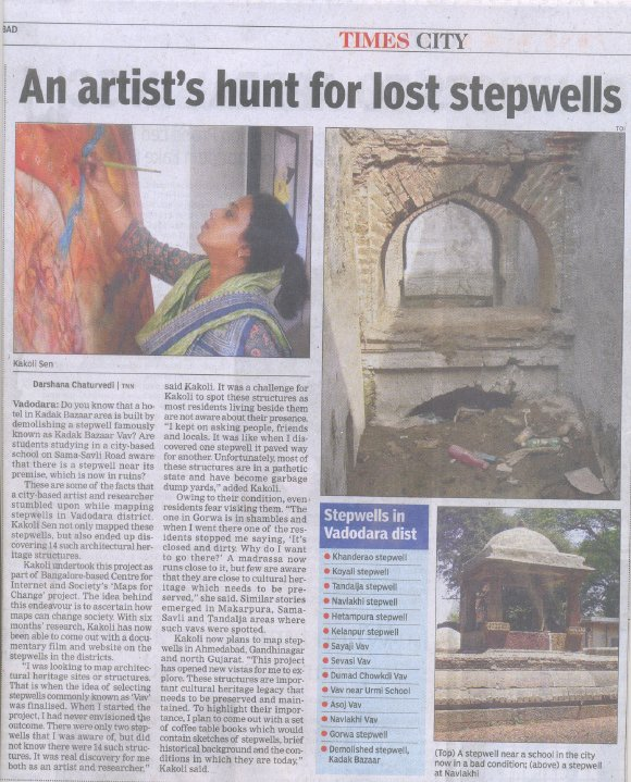 An Artist's Hunt for Lost Stepwells