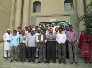 First Urdu Wikipedia Workshop at Maulana Azad National Urdu University, Hyderabad
