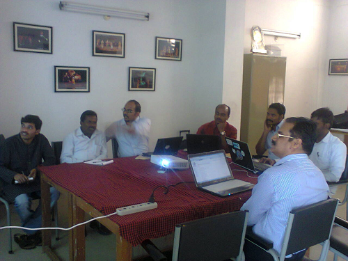 My First Wikipedia Training Workshop – Theatre Outreach Unit, University of Hyderabad