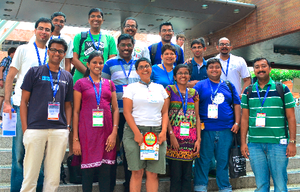 Wikimania 2013: Wikipedians represent Indian Languages in Hong Kong