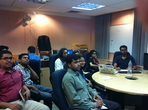 Wikipedia Introductory Session organized for Data and India portal consultants