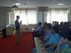A Wikipedia Workshop at NMAIT