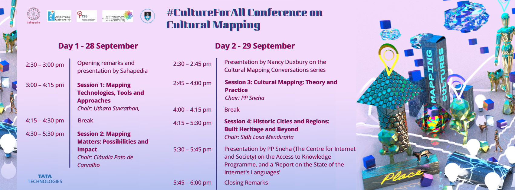 #CultureForAll Conference on Cultural Mapping